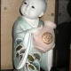 Japanese Doll with Glass case. [ningyō (人形)]