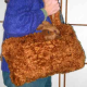 Bag: Faux Fur with Bunny (great accessory if you work with little kids!)