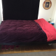 Double bed with frame