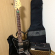 Fender Jaguar Blacktop w/amp
