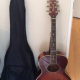 Accoustic guitar and case. ¥20,000 or best offer. Great condition