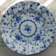 Plates: Blue and White