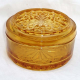 Glass Pickle Dish with Lid: Vintage