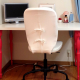 Beautiful white desk with matching chair!! Looks like new!