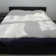free delivery IKEA queen size mattress and frame for sale- ¥48000 (kamakura)