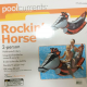 Rockin Seahorse Inflatable rider