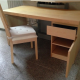 IKEA DESK with a CHAIR/CUSHION ALMOST NEW! 15,000 YEN