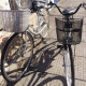Black & Silver bicycle. Headlight and lock included.MUST GO by Novemeber 19th !