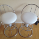 White Countertop Stools for Sale (fm. Nitori) - 5,000yen for both