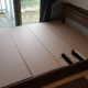 Queen size bed frame + 2 drawers