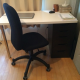 Small Desk with Chair (Ikea) 2,000y
