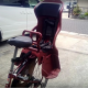 Baby sitting chair for a bicycle