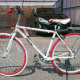 Sayonara Sale - Less than month old, lightweight Flying Pigeon bicycle ¥15000