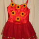 Halloween, Ballet and Dress-up: Tutu with yellow sunflowers