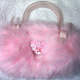 "Dress-up: ""My Melody"" pink fur bag by Sanrio"