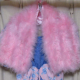Ballet and Dress-up: Pink Feather Stole
