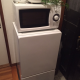 Fridge, microwave, toaster, rice cooker set for sale