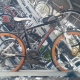 Cross bike (DoppelGanger d19 Road Pulse) , with same brand helmet - 10,000 Yen, negotiable