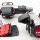 Look S-Track Clipless XC-Leisure MTB Mountain Bike Pedals with DCS Cleats - 5000¥