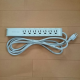 7 sockets extension cord