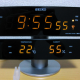 Seiko Desk Digital Clock Temperature/Humidity