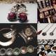 Vintage Wholesale Costume Jewelry Brooches Necklaces Earrings
