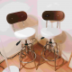 2x Cute Nitori Bar Stools! 5000yen for both