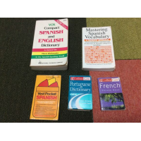 Various language books
