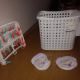 FREE clothes hanger, basket and bags for female underwear -AVAILABLE UNTIL FRIDAY 11th included (around Nijo)