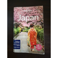 Lonely Planet Japan (800Y) (AVAILABLE UNTIL FRIDAY 11th included (around Nijo)