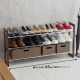 moving out sale: shoe rack