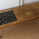 Vintage wood and tile coffee table - ¥3,000