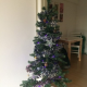 Christmas tree with decorations - ¥1000