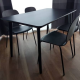 1 Ikea LISABO black table