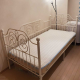 Single bed mattress + frame for sale