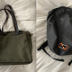 Arcteryx Backpack and Filson Tote