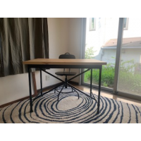 IKEA Desk with Chair - New - ¥12000