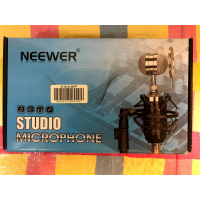 Newer desk microphone with amplifier - 2000 yens
