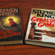 2 Hardcover Stephen King books